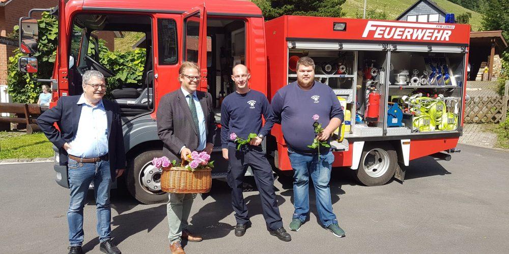 lonauer Flohmarkt Feuerwehr